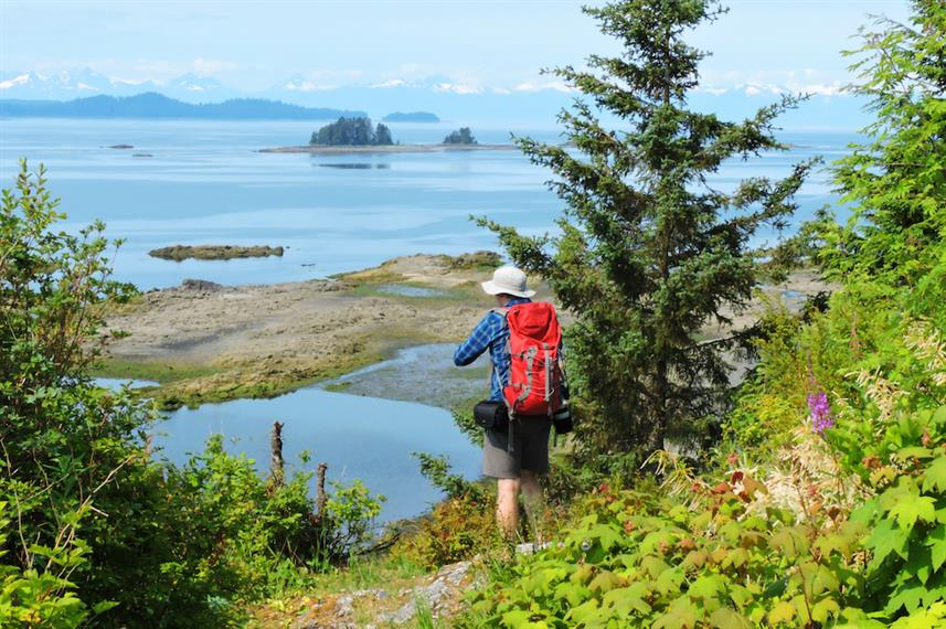 Hiking the Tongass Alaska