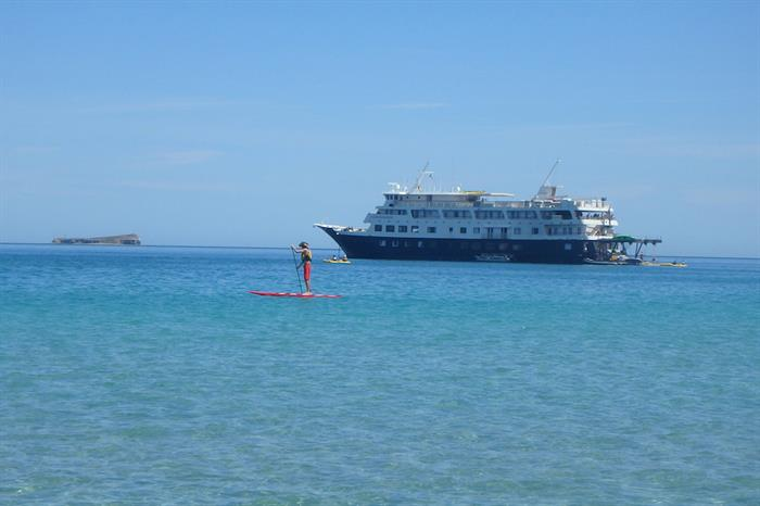 Stand up Paddleboard in Mexico