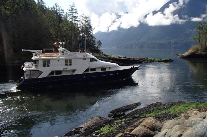 Safari Quest at Princess Louisa Inlet