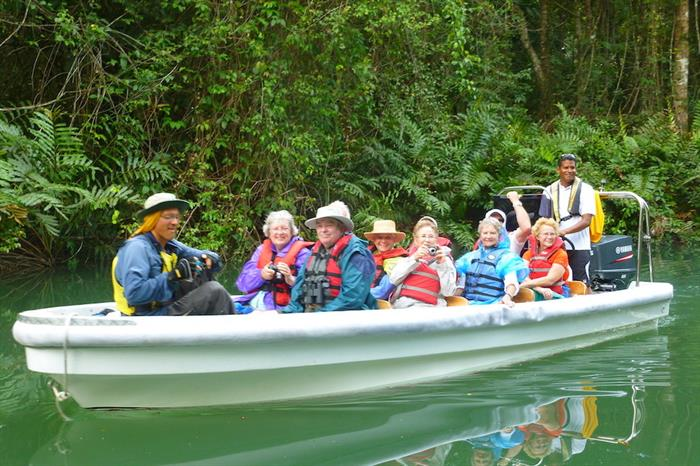 Floating down the Chagres - Discovery Panama