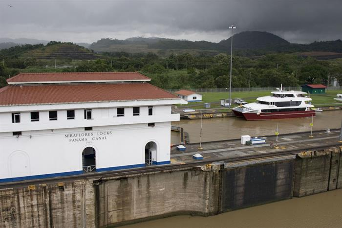 Transiting the Panama Canal
