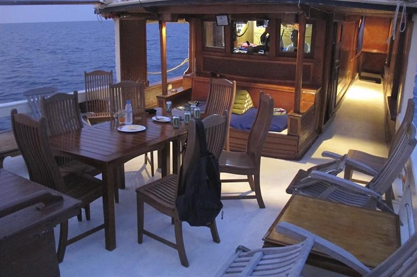 Dining Area - Sea Gipsy Myanmar