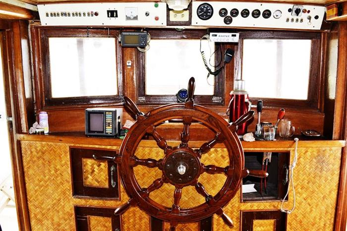 Captains Helm - Sea Gipsy Myanmar