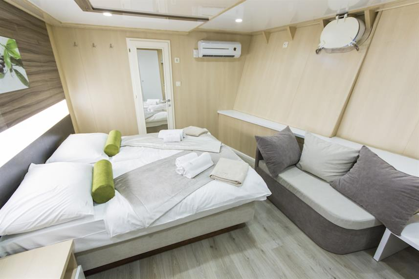 Lower Deck Cabin - Infinity Croatia
