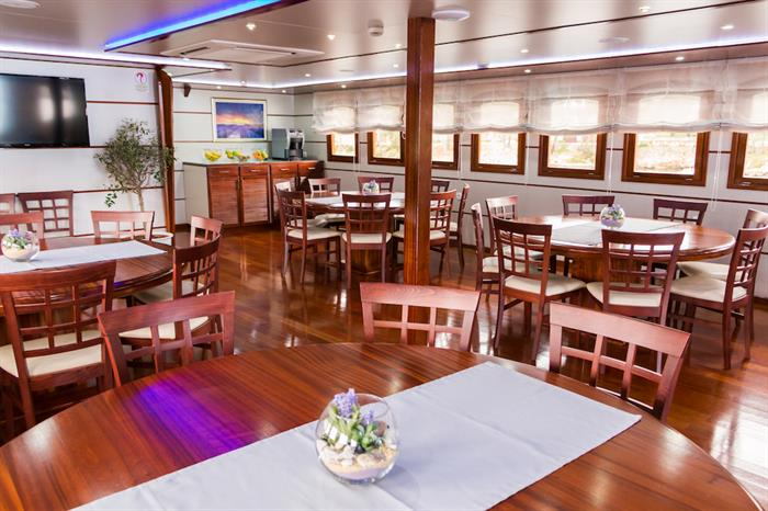Dining Area - MV Futura Croatia