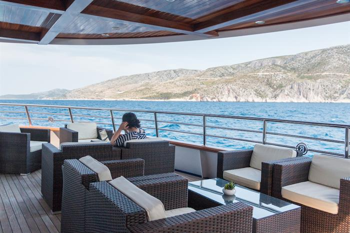 Outdoor Lounge - MV Futura Croatia