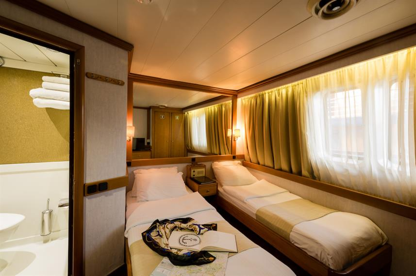 Category A Twin Cabin - M/S Panorama