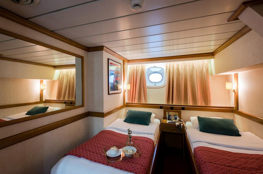 Category B Twin Cabin - M/S Panorama