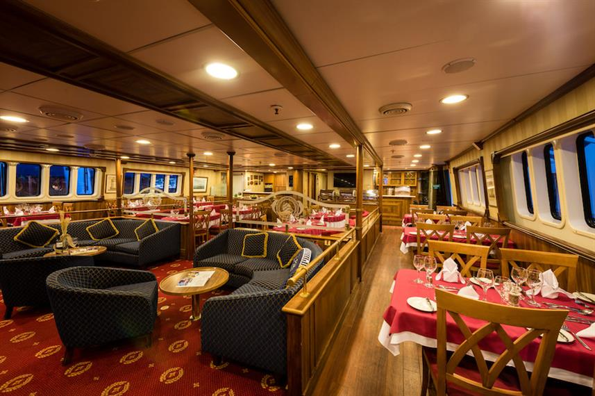Lounge & Dining Area - M/S Panorama