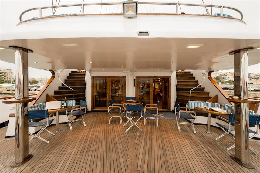 Main Deck Outdoor Lounge - M/S Panorama