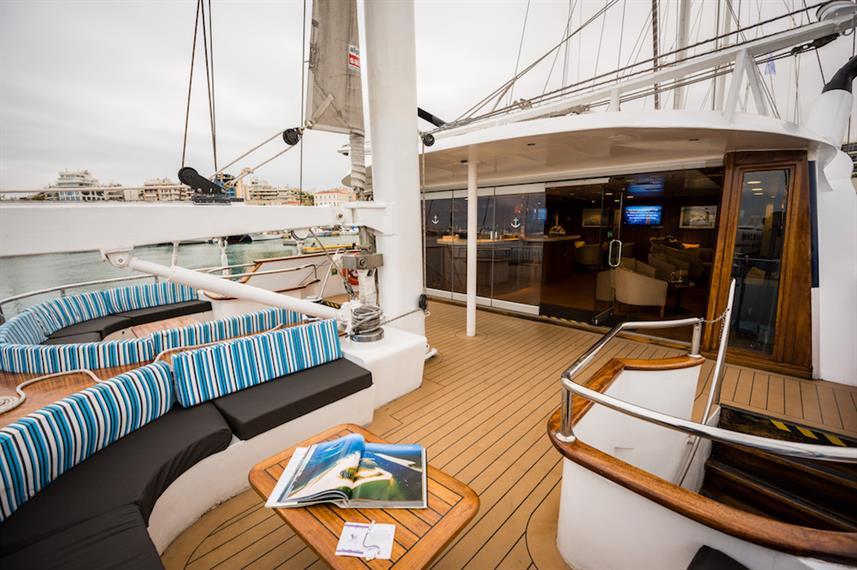 Outdoor Lounge Area - M/S Panorama
