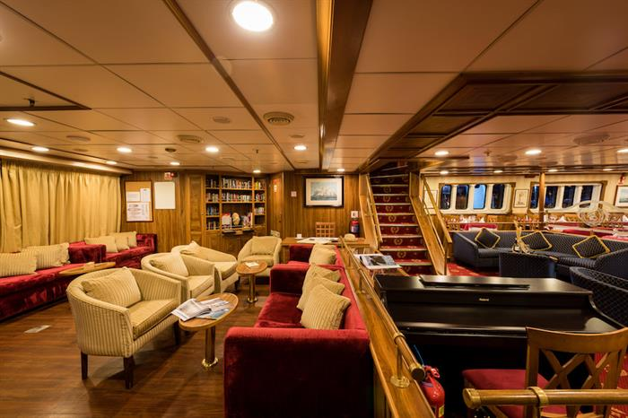 Main Deck Lounge - M/S Panorama