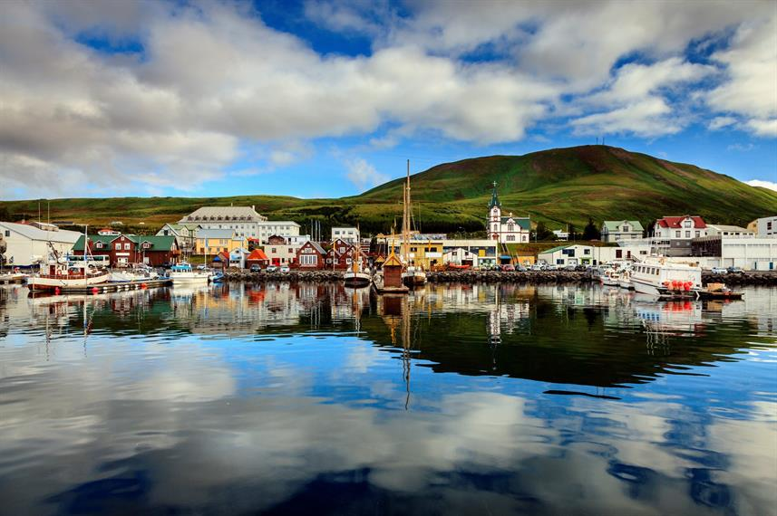 Husavik Harbour - Northern Iceland