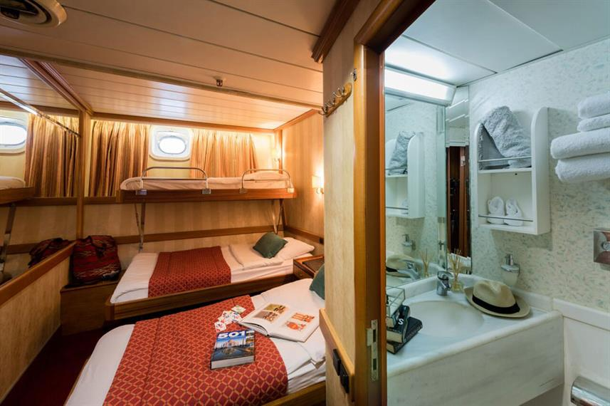 Category B Triple Cabin - M/S Panorama