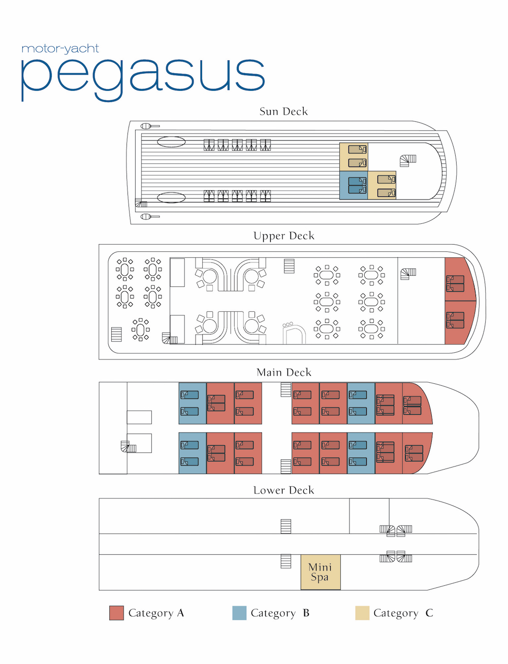 Pegasus Deck Plan floorplan