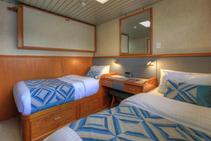 Twin Cabin - Hinchinbrook Channel
