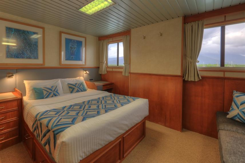 Deluxe Double - Coral Expeditions II