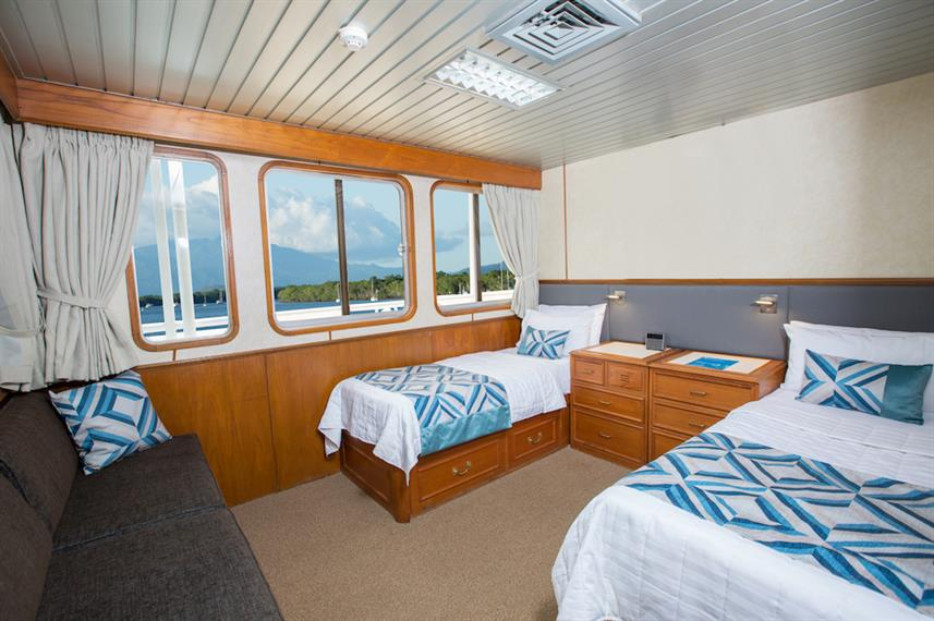 Twin Deluxe Stateroom - Stateroom - Coral Expeditions II