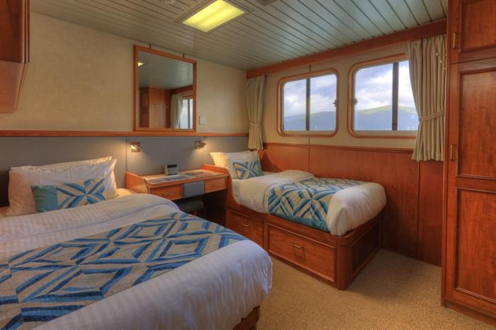 Twin Stateroom - Coral Expeditions II