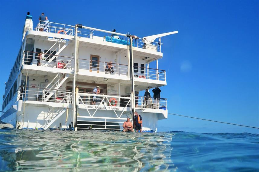 Coral Expeditions II Swim Platform