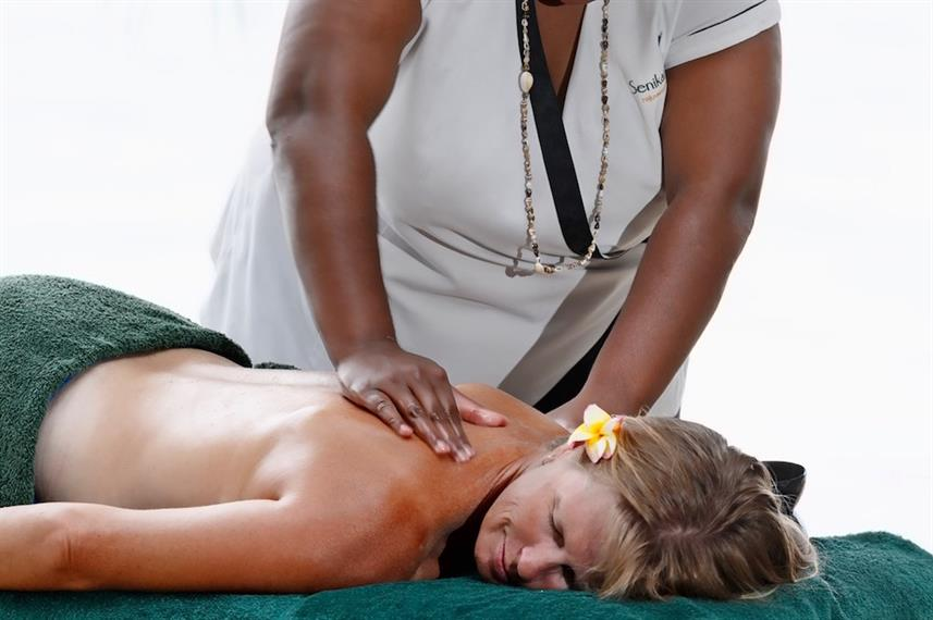 Enjoy Massages aboard the Fiji Princess