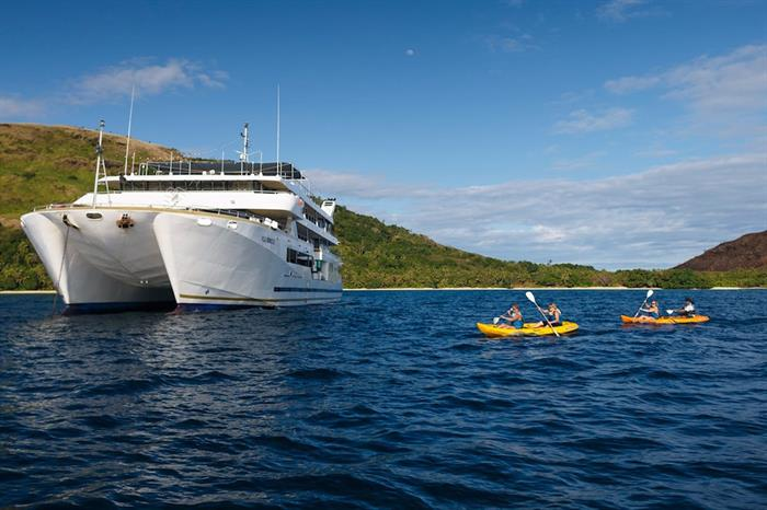 Kayaking in Fiji - Fiji Princess