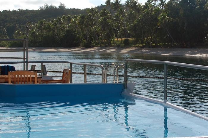 Splash Pool aboard the Fiji Princess