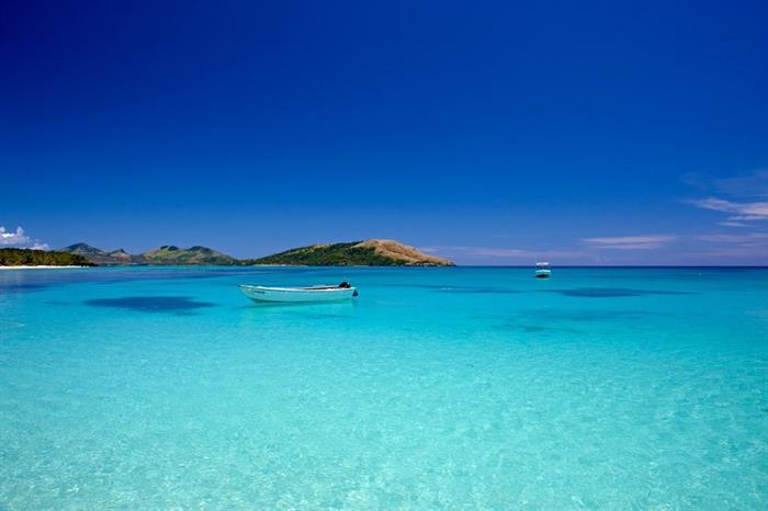 Crystal clear waters of the Yasawa Islands Fiji