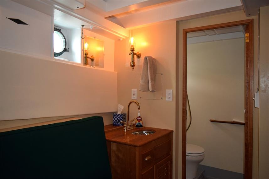 En-suite bathrooms - MV Westward