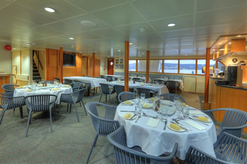 Dining Area - Coral Expeditions I Australia