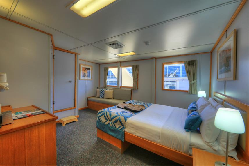 Double Stateroom - Coral Expeditions I