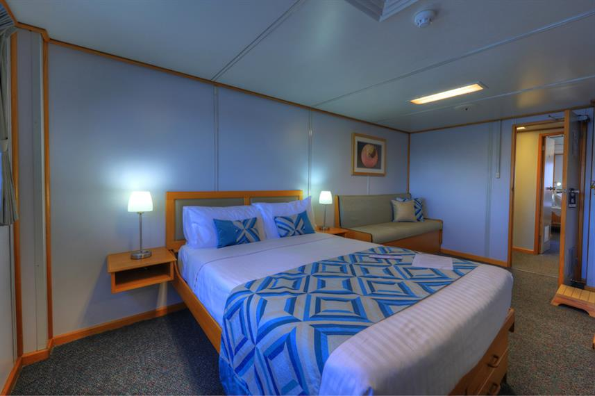 Double Stateroom - Coral Expeditions I Australia