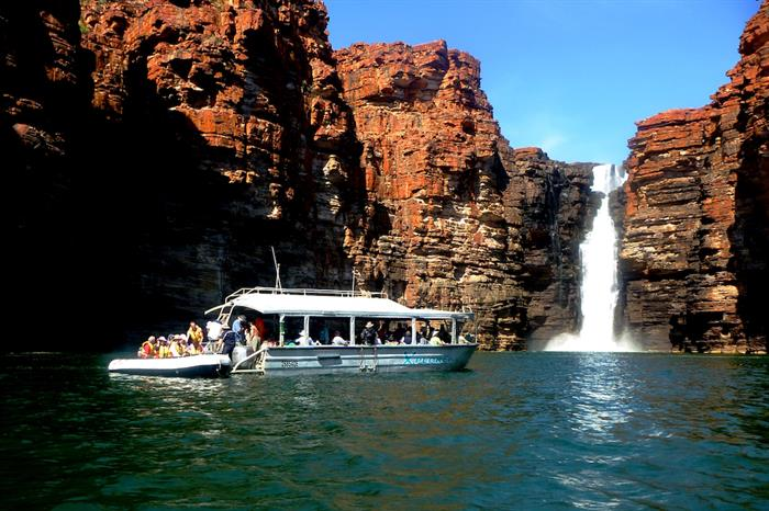 King George Falls - Coral Expeditions I Australia
