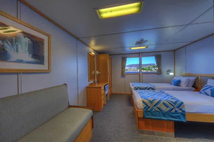 Deluxe Twin Stateroom - Coral Expeditions I