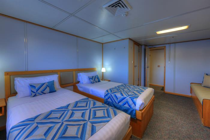 Twin Stateroom - Coral Expeditions I Australia