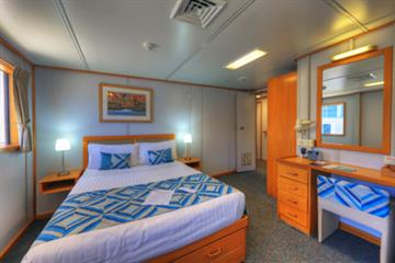 Coral Expeditions I Upper Deck Stateroom