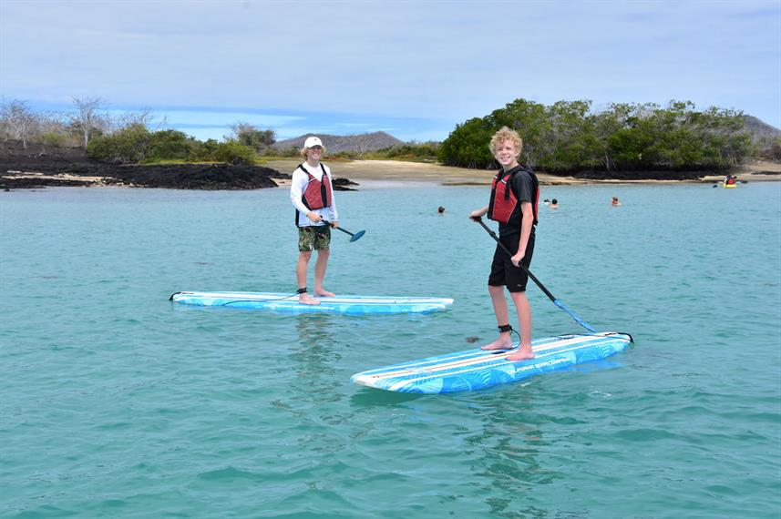 Stand-up paddleboarden - La Pinta