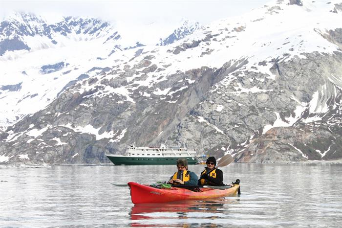 Kayaking in Alaska - Wilderness Explorer