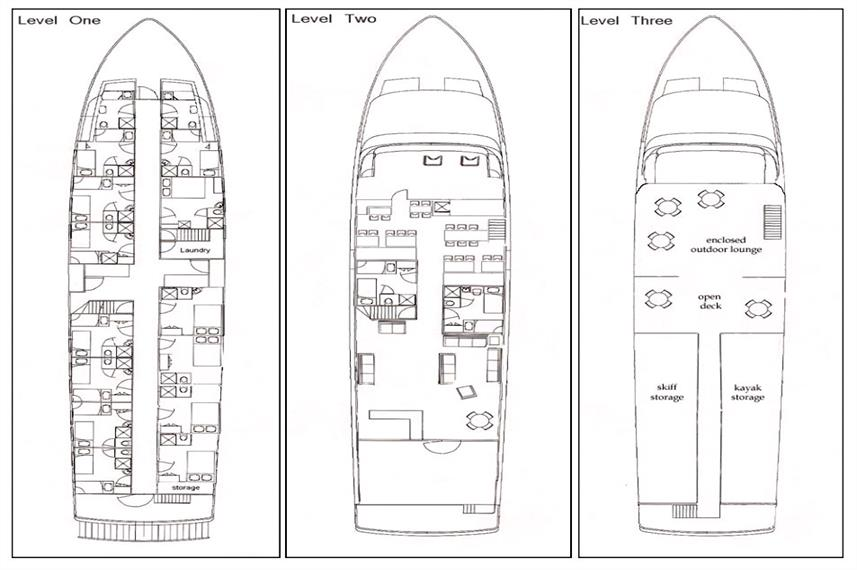 Island Spirit Deck Plan floorplan