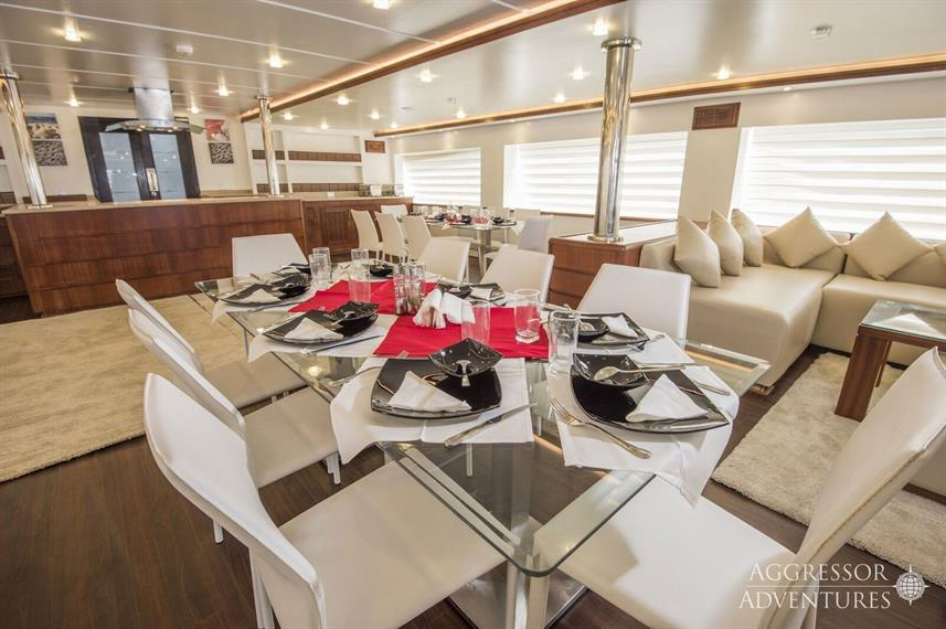 Dining Room - Maldives Aggressor II