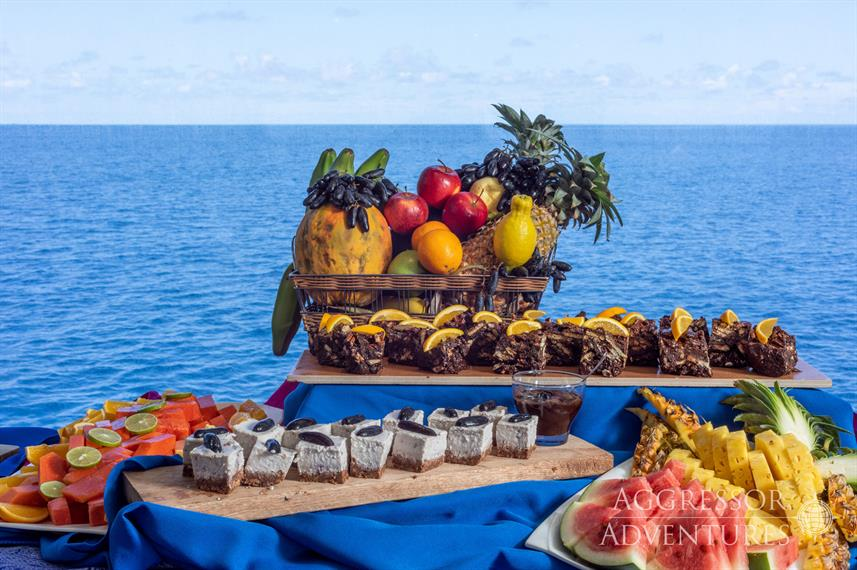 Food on board - Maldives Aggressor II
