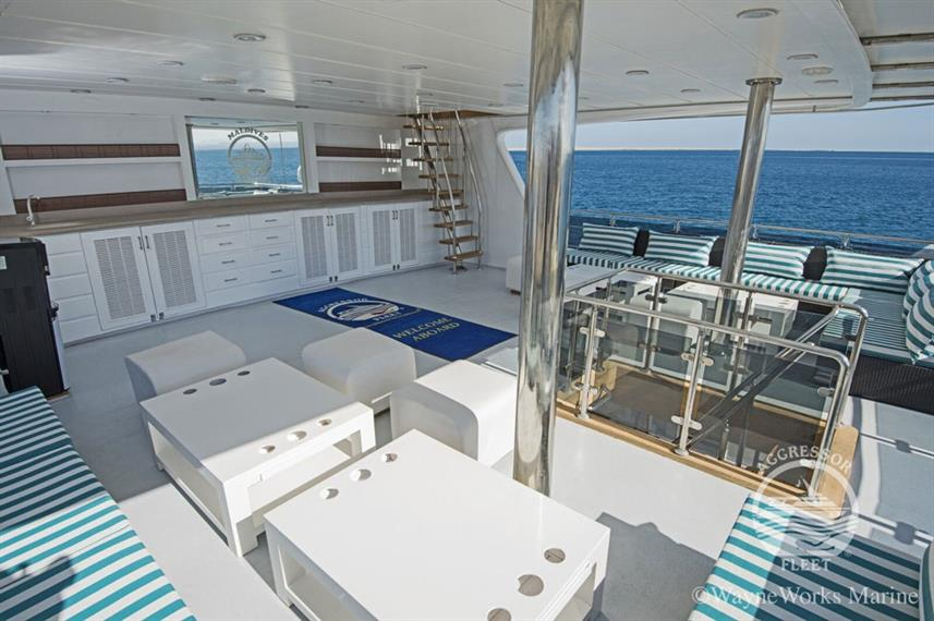 Sun Deck - Maldives Aggressor II