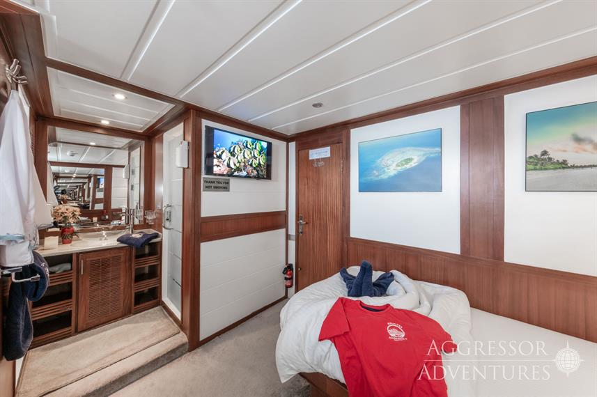 Twin Cabin - Maldives Aggressor II