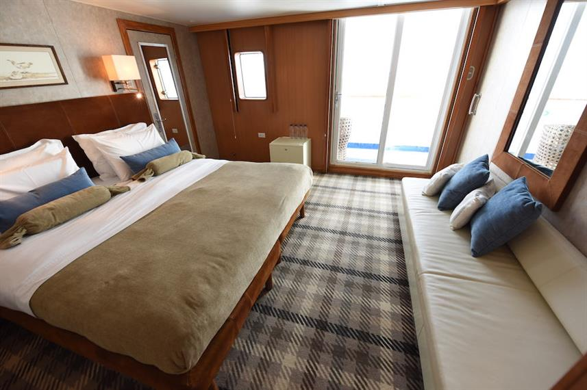 Balcony Suite - M/V Galapagos Legend