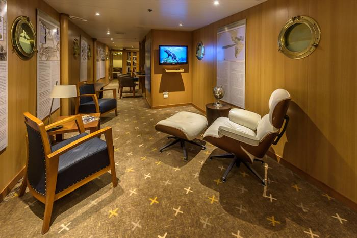 Interpretation Centre - M/V Galapagos Legend