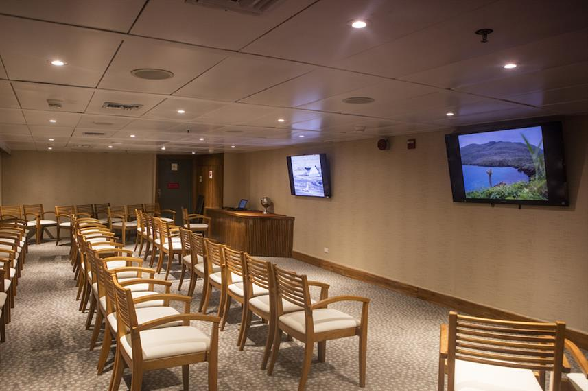 Auditorium - M/V Galapagos Legend