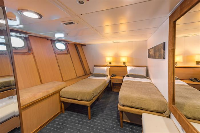 Standard Plus Cabin - Coral I and II Galapagos