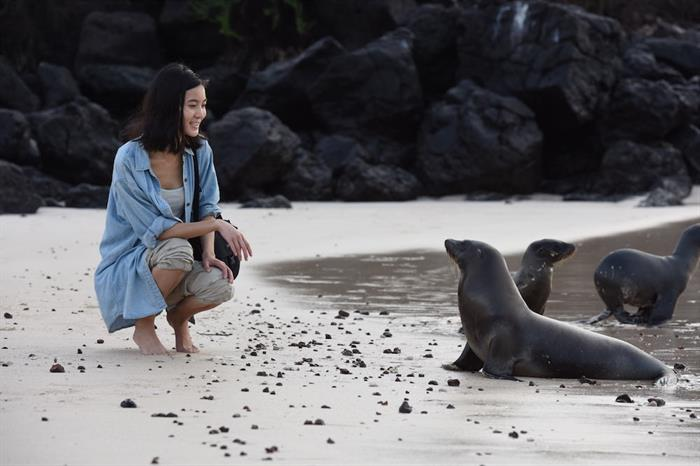 Up close with nature in the Galapagos