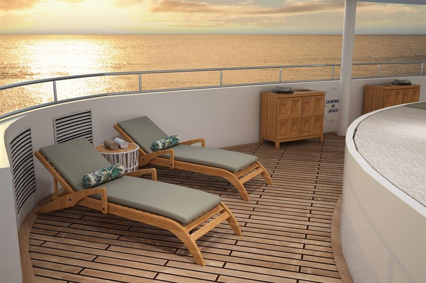 Sun Deck - Ocean Spray
