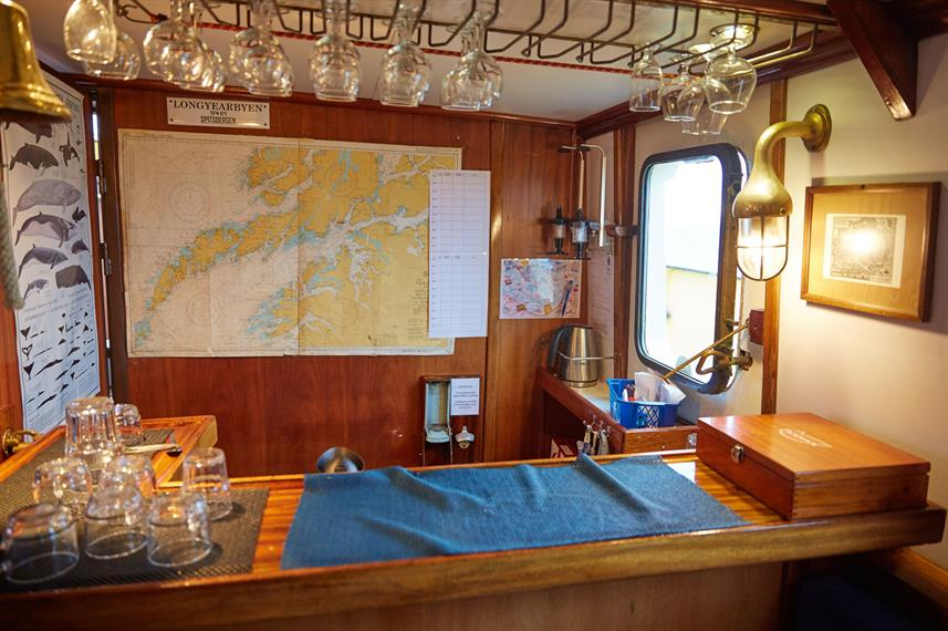 S/V Noorderlicht - Bar Area